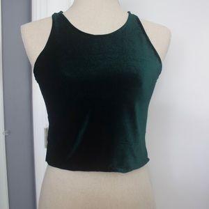 Velvet Green Shirt
